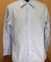 EUC 15-33 Mens Brooks Bros Slim Fit NonIron Dress Shirt Original Polo Shirt 1818