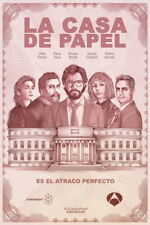"003 La casa de papel -  Action Crime Spain TV Show 14""x21"" Poster"