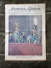 La Domenica del Corriere 6 Dicembre 1936 Re Imperatore Invasione campo Mussolini