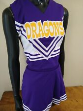 New listing DRAGONS Cheerleader Uniform Outfit Costume Adult S,L,XL. Authentic. Made in USA