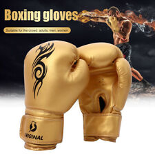Kick Boxing Gloves for Men Women PU Karate Muay Thai Free Fight  Sanda Training