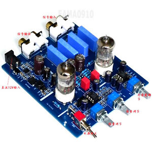 HIFI 6J1 Tube Adjustment Audio Amplifier tube Preamplifier w/ High and Low Sound