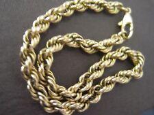 Bracelet maille corde en or 18 carats