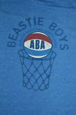 Vintage 1990s Beastie Boys Aba Blue Graphic Band T Shirt Large