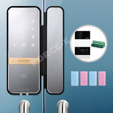 Remote Control Keyless Lock for Glass Door Gateman Shine Doorlock RFID Card 3Way