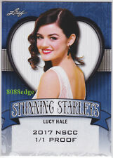 "2017 POP CENTURY STUNNING STARLETS PROOF: LUCY HALE #1/1 OF NSCC ""CINDERELLA"""