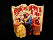 "Jim Shore Disney Princess ""Love Endures"" Beauty and the Beast Storybook Statue"