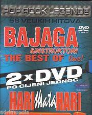 Bajaga & Instruktori LIVE + Hari Mata Hari Najveci Hitovi Uzivo 2 DVD Zetra Best