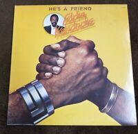 "Vintage 1976 Eddie Kendricks ""He's A Friend"" LP- Tamla Records (T6-343S1) EX-"