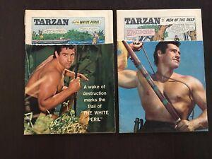 Tarzan #102 'Men of the Deep' Tarzan #108 'White Peril' (2) Comics