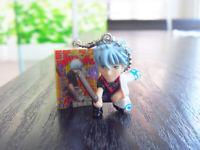 Anime Gintama Mini Figure Samurai Shiroyasha Sakata Gintoki 1.5'' Valuable RARE