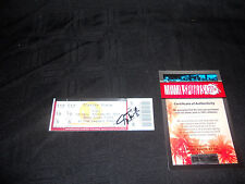 JAMEIS WINSTON FLORIDA STATE SEMINOLES SIGNED TICKET STUB VS HURRICANES RARE!