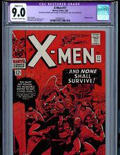 Uncanny X-Men #17 CGC 9.0 (c-1) 1966 Silver Age Marvel Comics Amricons Kirby K16