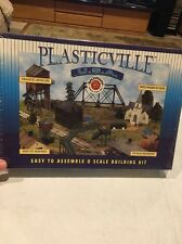 Bachmann 45992 O-Scale Covered Bridge Plasticville Snap KIT Easy Assembly