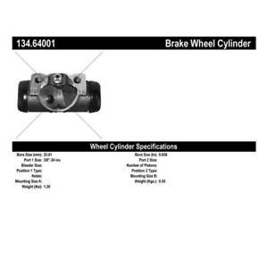 Drum Brake Wheel Cylinder Fits: 1972 - 1974 AM General DJ5, 1965 - 1974 American