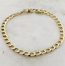 18K Yellow Gold Unisex Link Bracelet