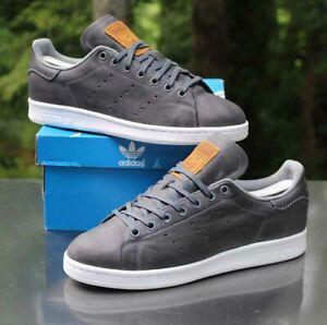 Adidas Originals Stan Smith Onyx Men's Size 8.5 Leather Grey White BB1177