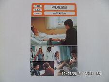CARTE FICHE CINEMA 1999 UNE VIE VOLEE Winona Ryder Angelina Jolie Clea Duvall