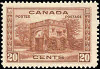 1938 Mint H Canada F+ Scott #243 20c Pictorial Issue Stamp