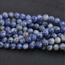 Natural Gemstone Round Spacer Loose Beads 4MM 10PC 28