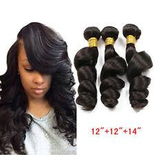 Loose Wave 150g/3bundles Peruvian Wavy 100% Virgin Real Human Hair Extensions 6A