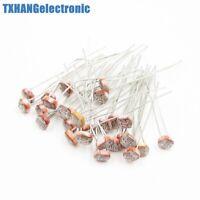 20PCS Poresistor LDR CDS 5mm Light-Dependent Resistor Sensor GL5516 b49