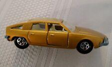 1969 Matchbox Gold BMC 1800 Pininfarina Car #56 England w/Thin SF Wheels