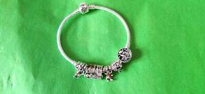 19cm Pandora Harry Potter Bracelet With 5 Charms S925 ALE