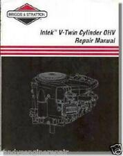 BRIGGS & Stratton PART # 273521 SERVICE MANUAL INTEK V-TWIN OHV