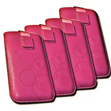 Handy Tasche Etui Cover Case Hülle  in Pink für Samsung i9001 Galaxy S Plus