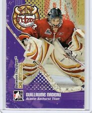 2009-10 ITG CHL ROOKIES GUILLAUME NADEAU #CR-07