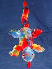 """21"""" Ty Beanie Buddies Lizzy Ty-Dyed Lizard w/Tag 1999"""