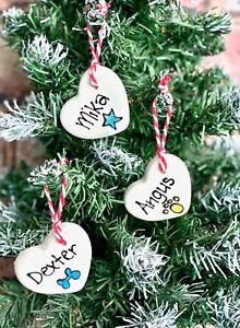 Personalised Christmas dog gift Christmas cat gift stocking filler ceramic gift