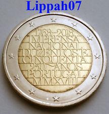 Portugal speciale 2 euro 2018 Nationale Drukkerij UNC