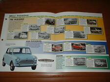 ★★1959-99 HISTORY OF MINI BROCHURE AUSTIN ROVER BMC COOPER MK1 MKII MKIII MOKE★★