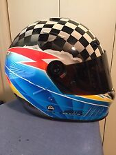 "BELL vortex the Pump Reebok RACING HELMET size7 1/8 ""Pro NOS NEW SA90 3/92 Date"