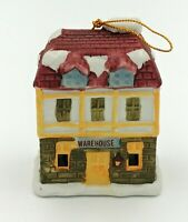Dickens Village Bell Lites Porcelain Holiday Christmas Ornament Warehouse
