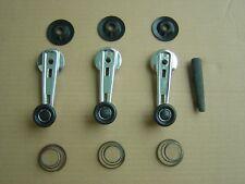 BMW 02er E10 Fensterkurbeln Chrom L-Ausstattung mit Anlaufscheiben 1602-2002tii