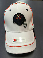 K) University of Virginia UVA Cavaliers Nike Football Blue Helmet Large Hat