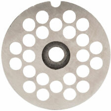 8Mm Plate For Weston #10 Or #12 Electric Meat Grinders (Stainless Steel)