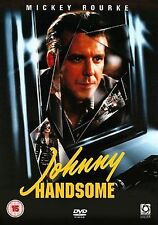 JOHNNY HANDSOME DVD R2 MICKEY ROURKE MORGAN FREEMAN ***
