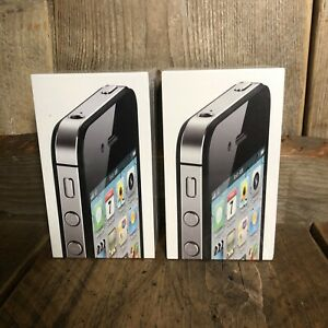 Apple iPhone 4S 64GB Black (Vodafone) A1387 Factory Sealed Old Stock Rare!