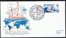 Sir Francis Chichester First Day Cover 24th July 1967 Greenwich Cancel - SG751