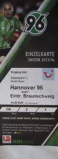 TICKET 2013/14 Hannover 96 - Braunschweig