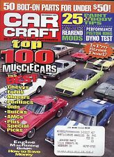Car Craft Magazine December 1997 Top 100 Muscle Cars / Is Pro Street Dead?