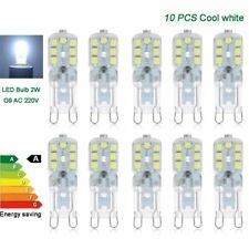 10pcs G9 led bulbs 2W corn lamp SMD2835 chip capsule cool white lights 220V 230V