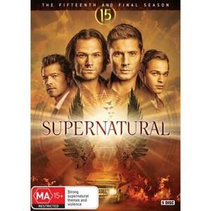 Supernatural - Season 15 (Dvd,2021) REG 4 *NEW*
