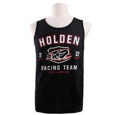 Holden Racing Team Mens Singlet Black Size S-4XL