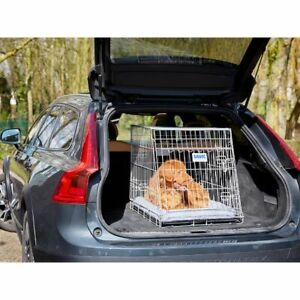 Savic Dog Residence Mobile Car Crate Cage | Traveling Safe Puppy Dog Transport
