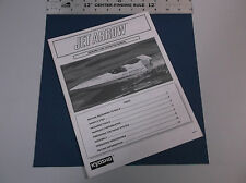 VINTAGE KYOSHO JET ARROW ASSEMBLY & OPERATION R/C BOAT MANUAL  *VG-COND*